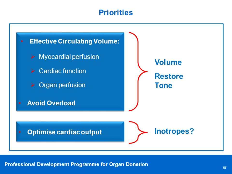 Effective Circulating Volume: