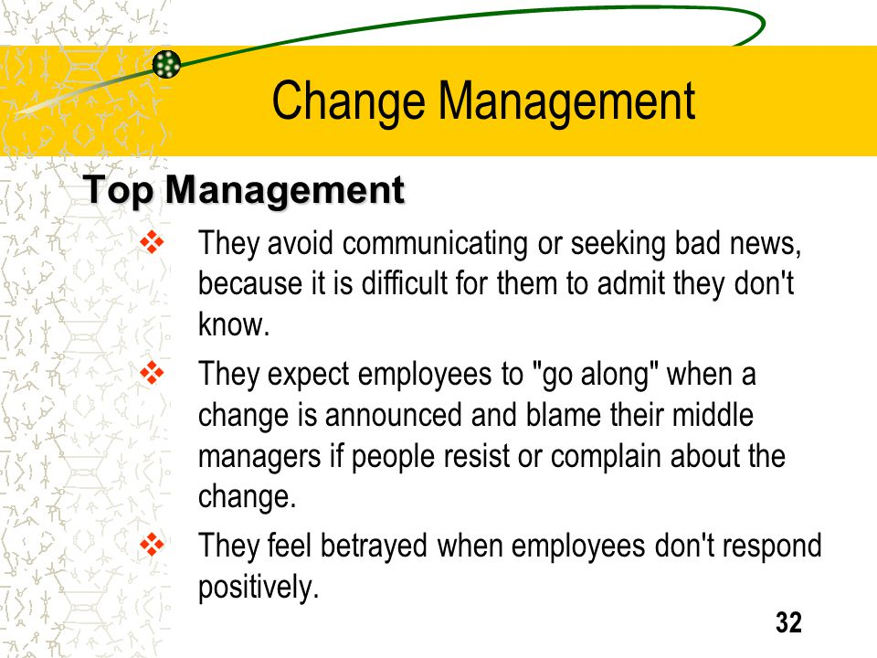 Change Management Top Management