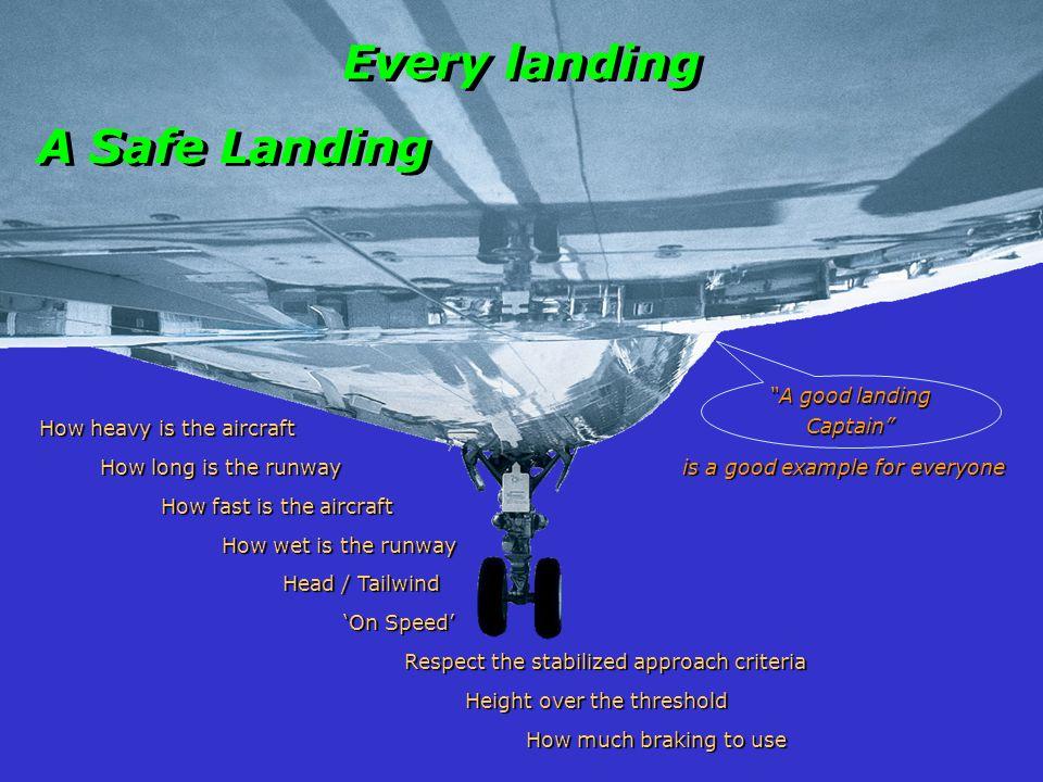 A good landing Captain