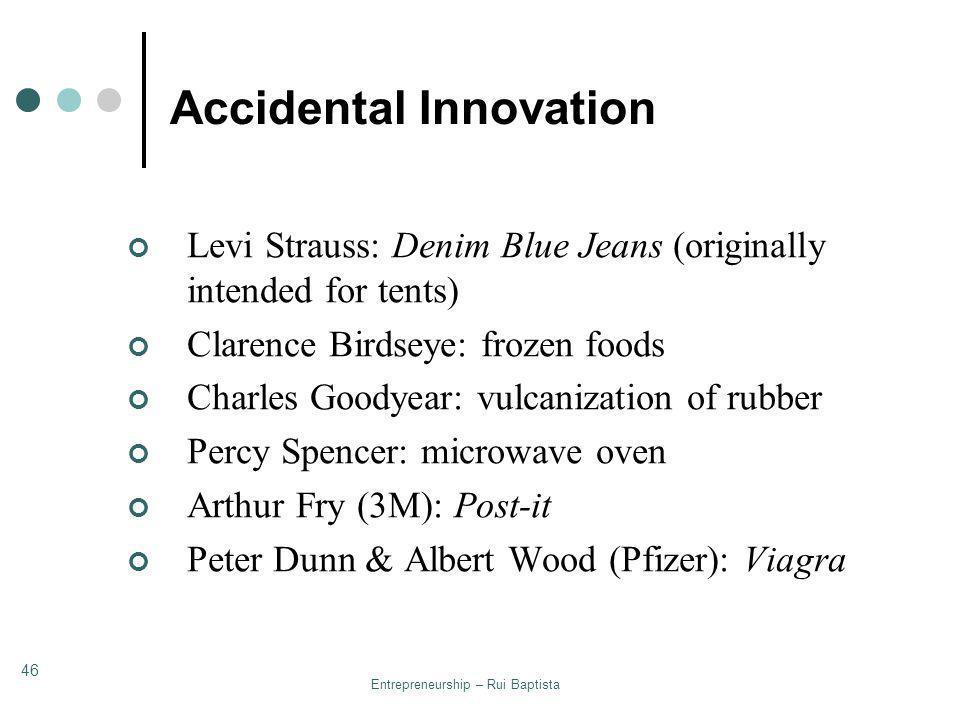 Accidental Innovation