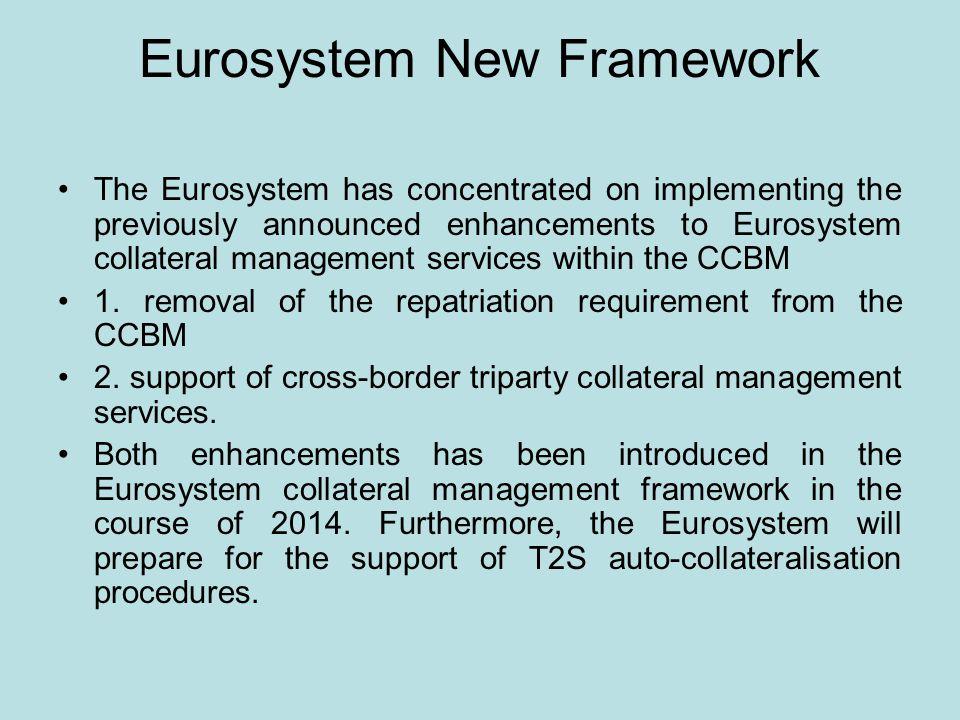 Eurosystem New Framework