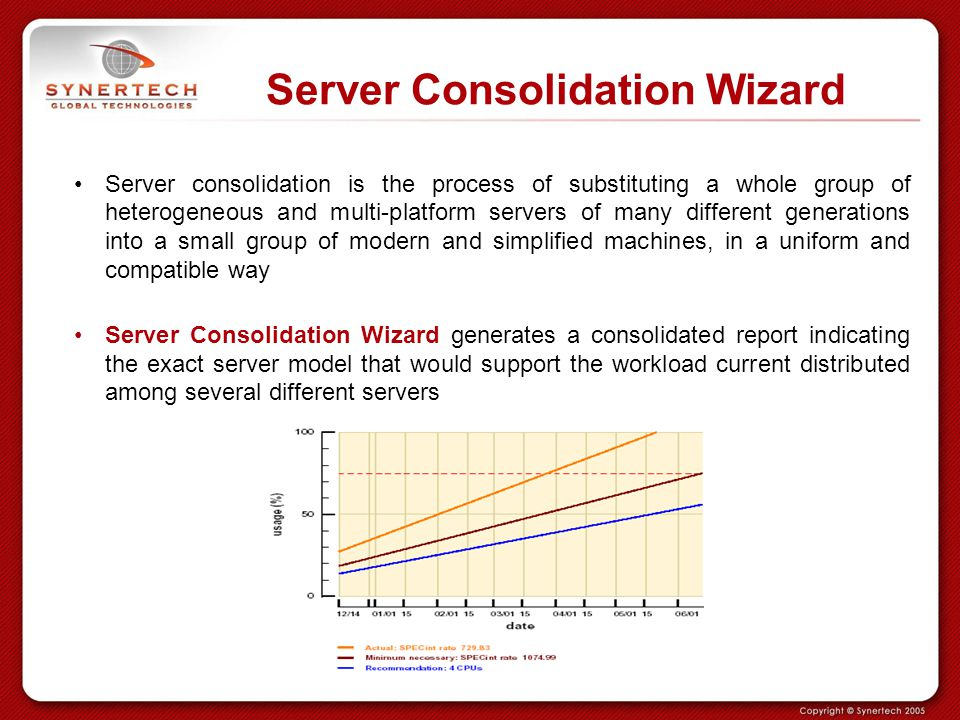 Server Consolidation Wizard