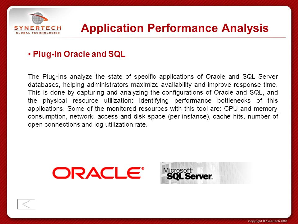 Application Performance Analysis