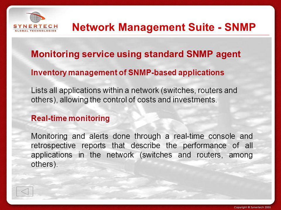 Network Management Suite - SNMP