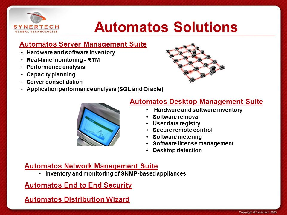 Automatos Solutions Automatos Server Management Suite