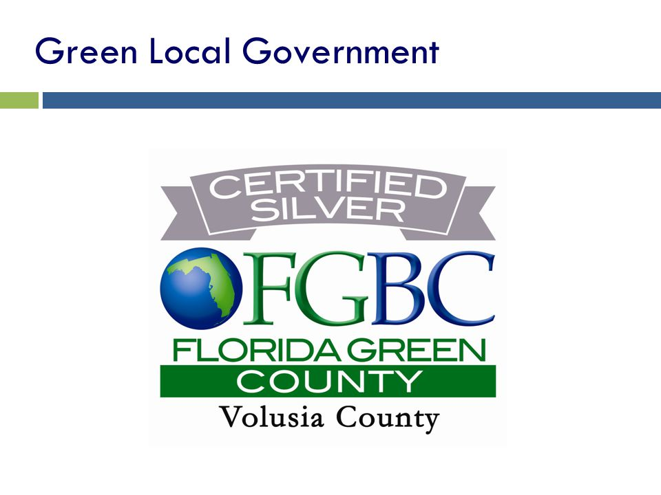 Green Local Government