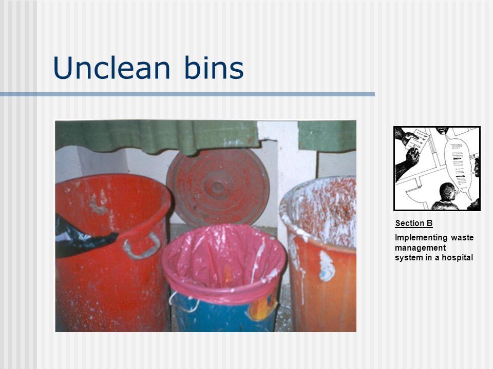 Unclean bins