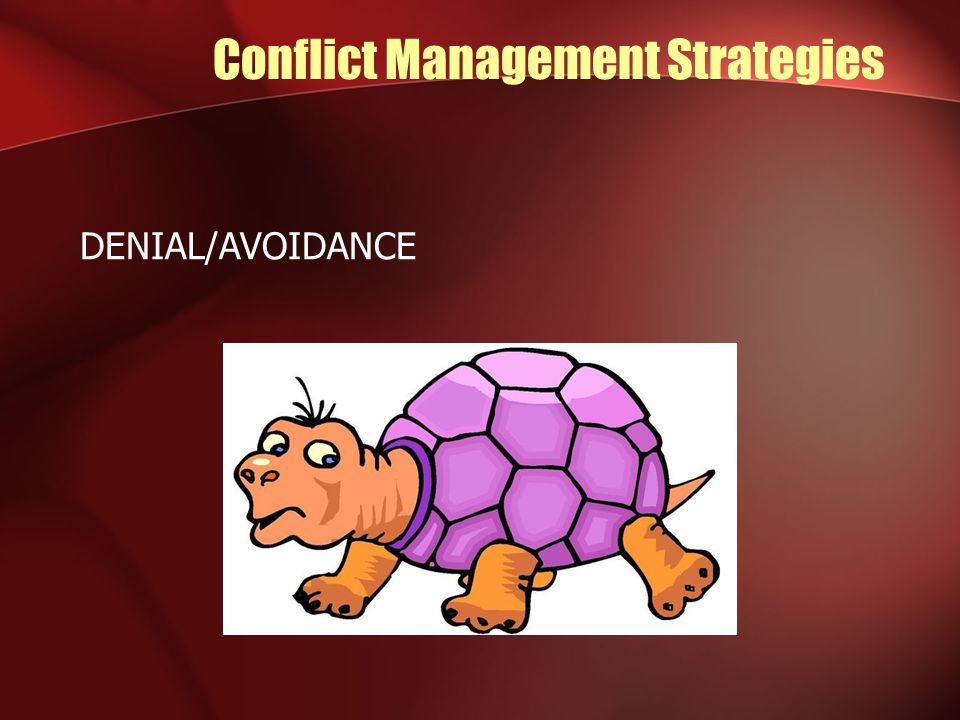 Conflict Management Strategies