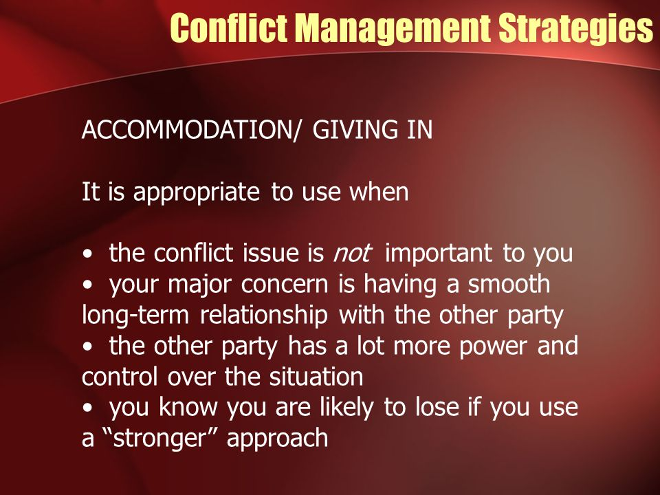 deals issues related conflict management The auditor's guide to conflict resolution - read this article along with other  careers information,  deal with issues rather than personalities.