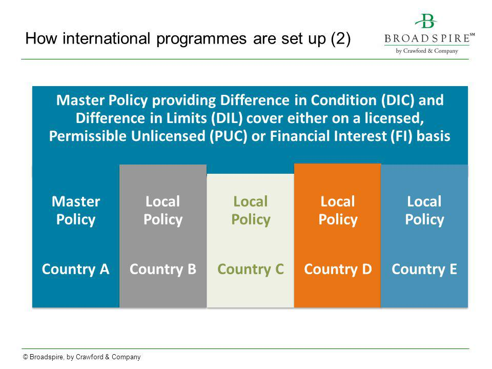 How international programmes are set up (2)