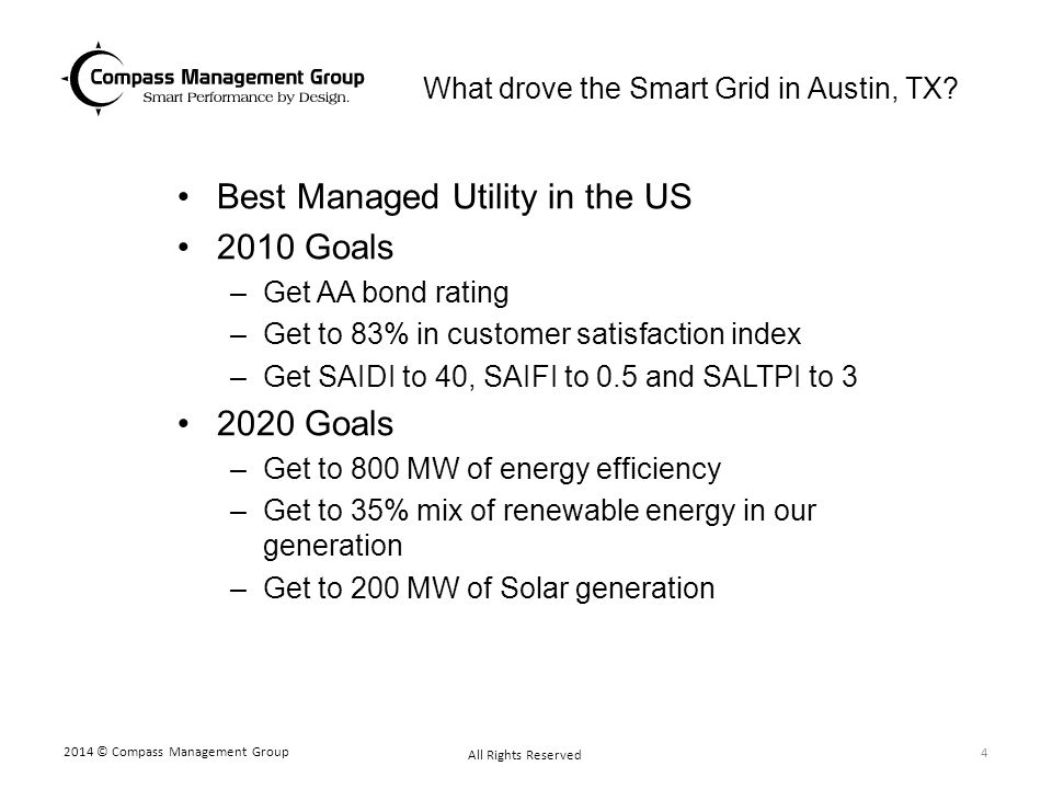 What drove the Smart Grid in Austin, TX