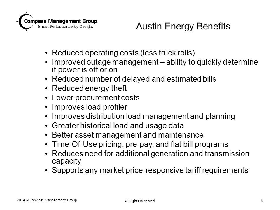 Austin Energy Benefits