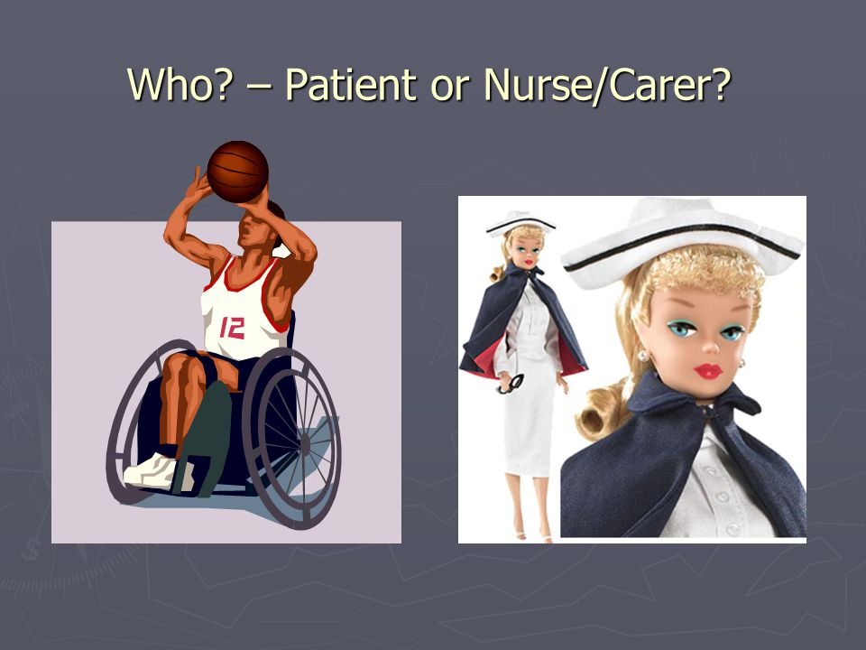 Who – Patient or Nurse/Carer