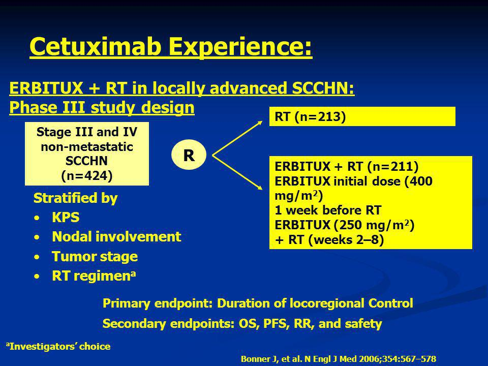 Cetuximab Experience: