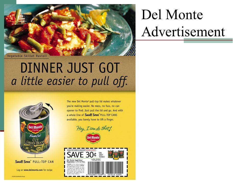 Del Monte Advertisement