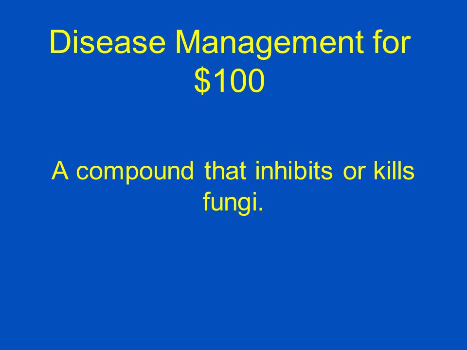 Disease Management for $100