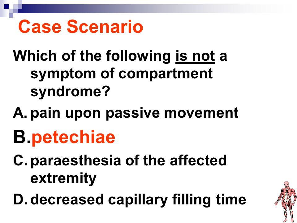Case Scenario petechiae