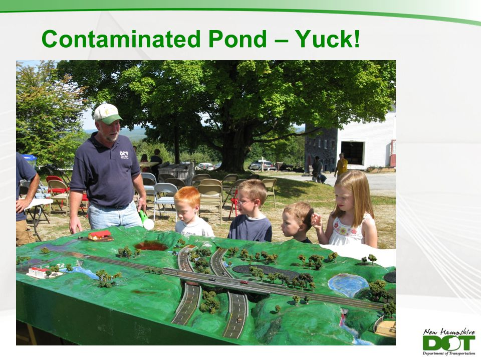 Contaminated Pond – Yuck!