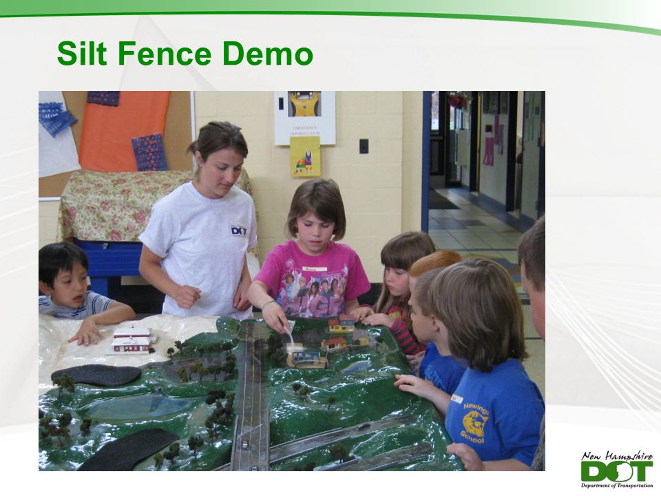 Silt Fence Demo