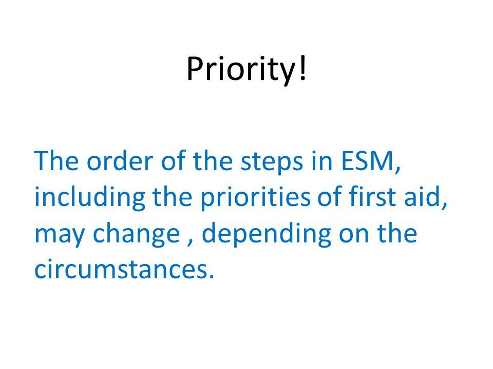 Priority.