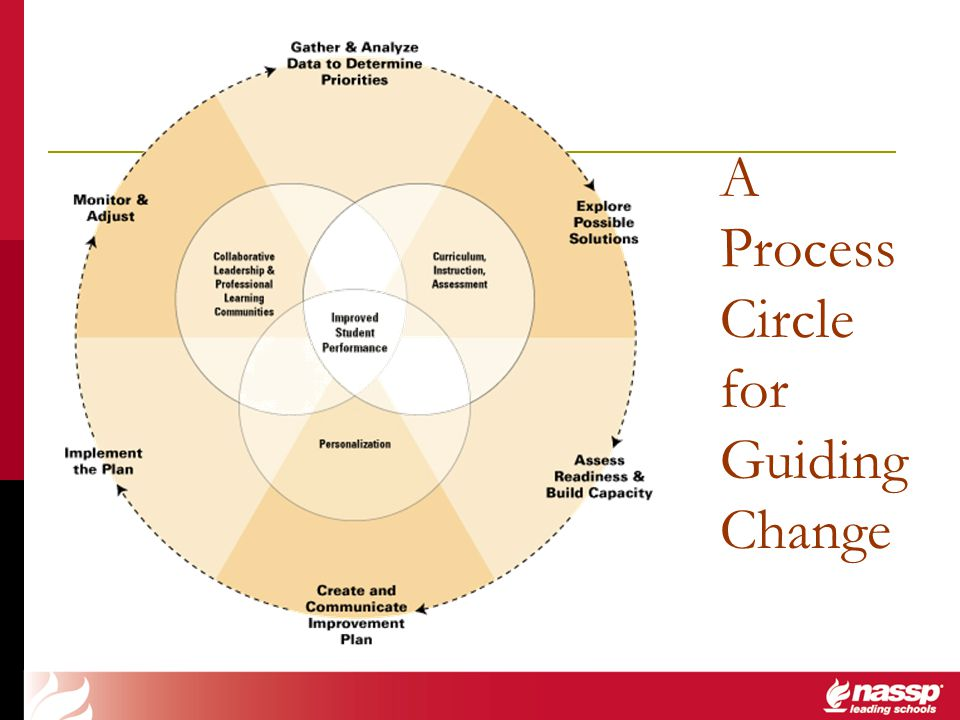 A Process Circle for Guiding Change
