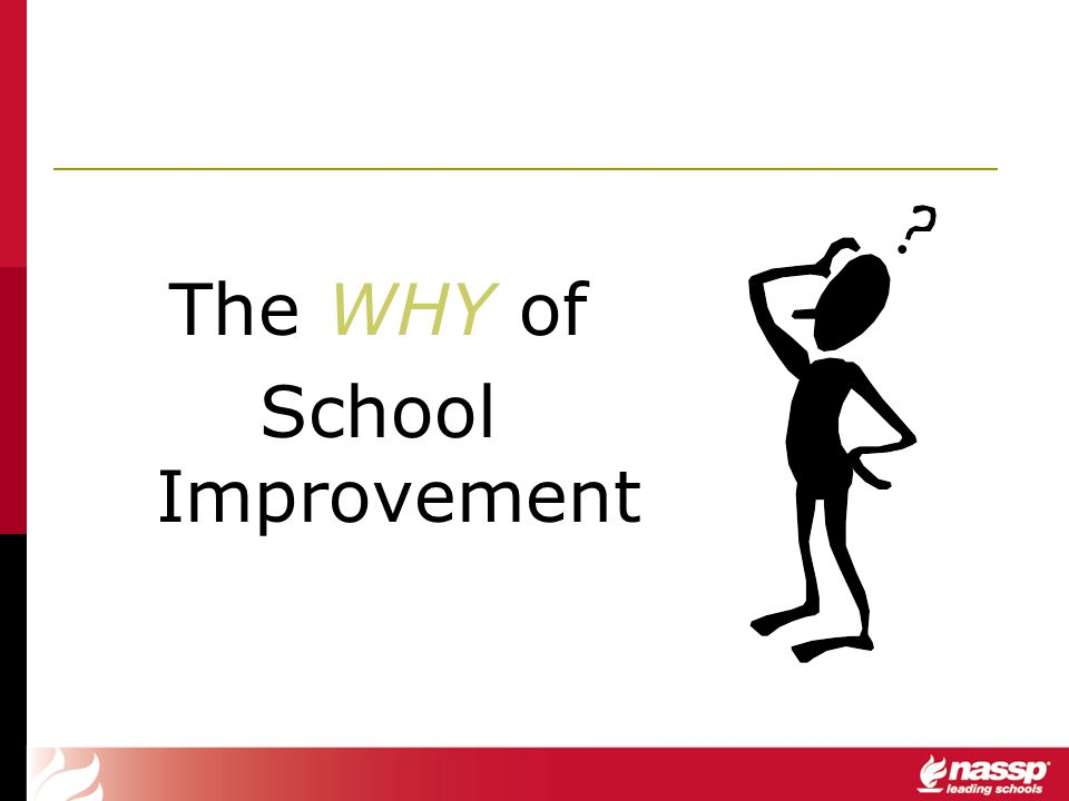 The WHY of School Improvement