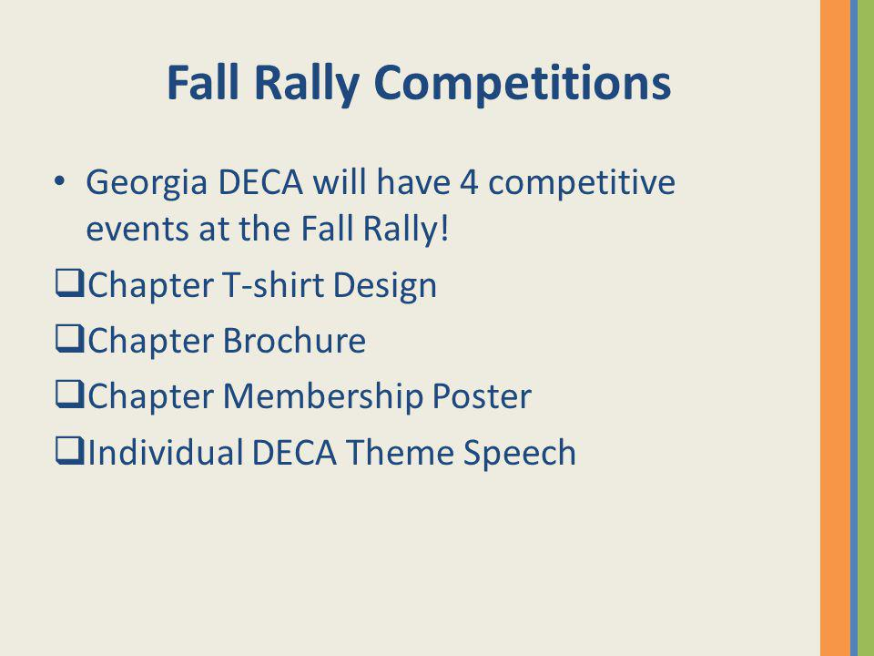 Fall Rally Competitions