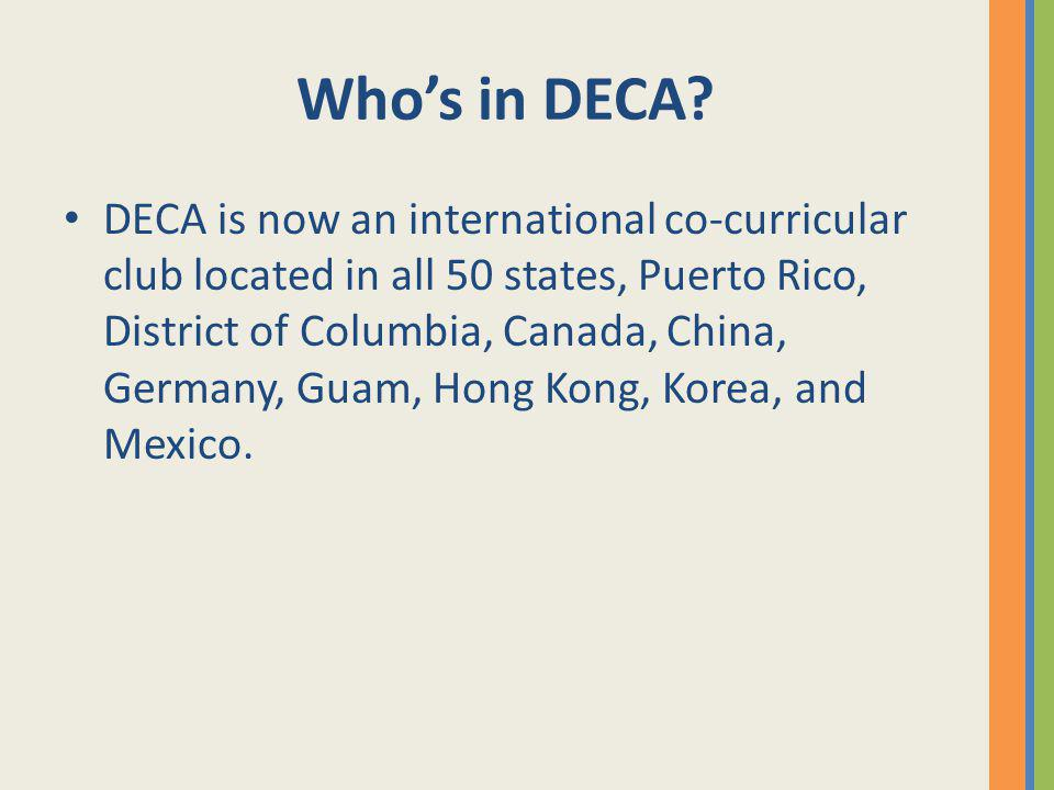 Who's in DECA