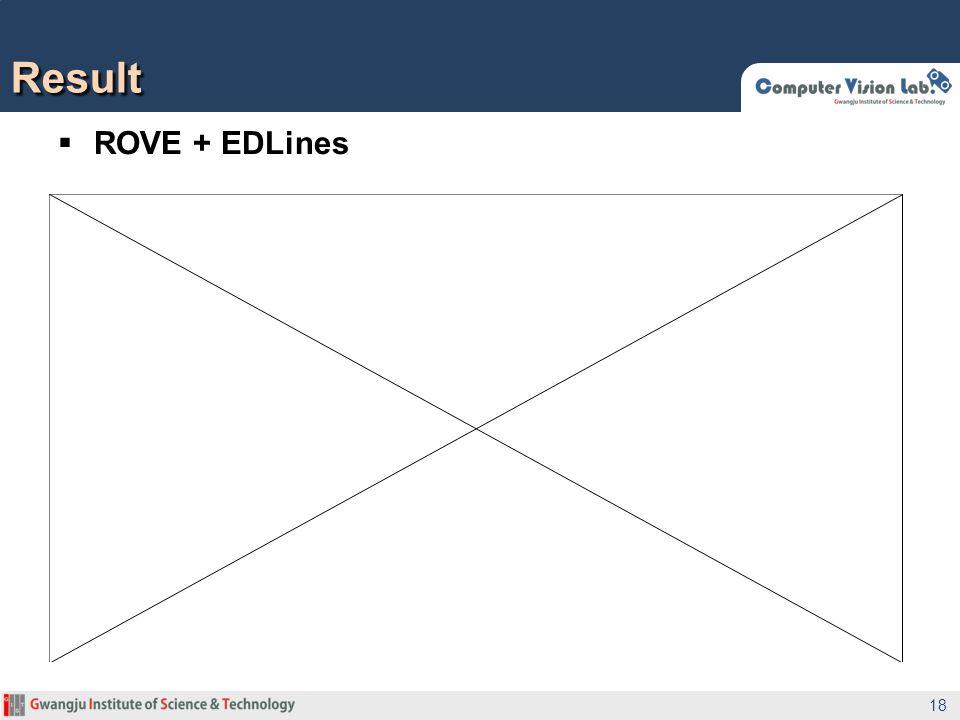 Result ROVE + EDLines