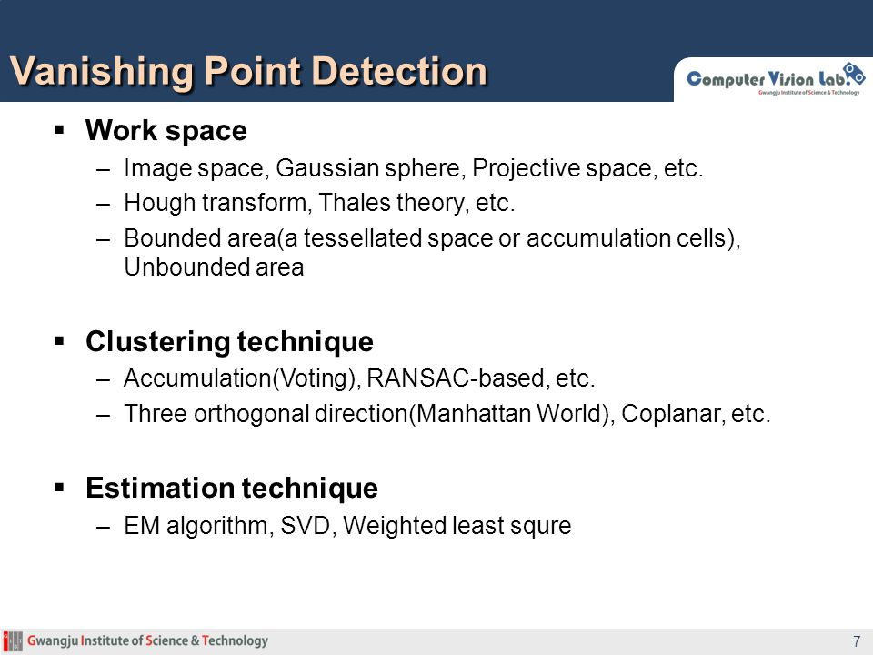Vanishing Point Detection