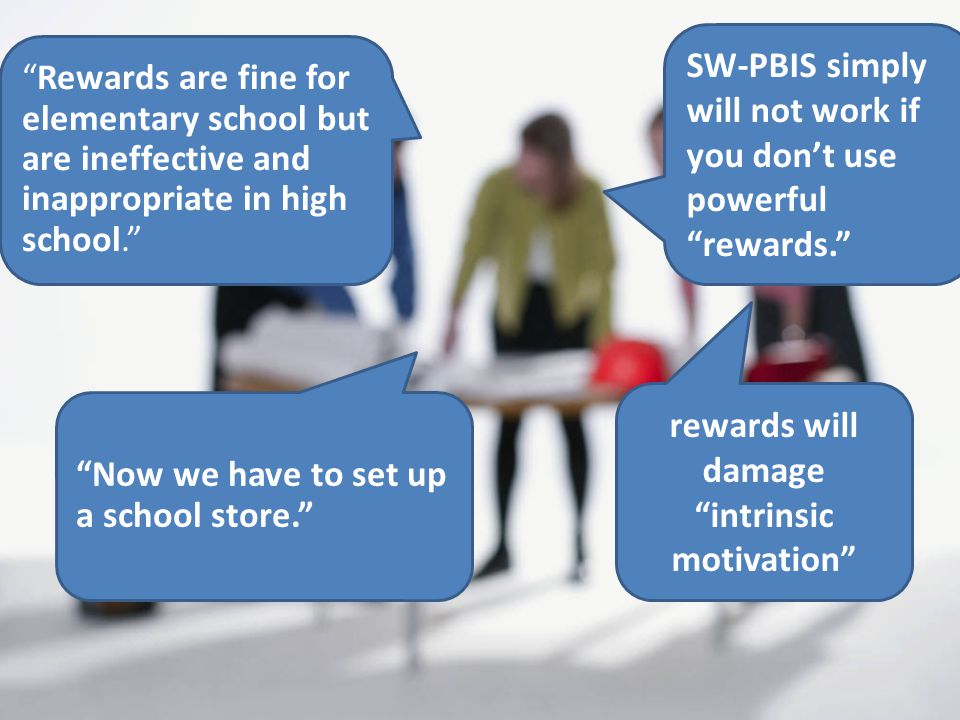 rewards will damage intrinsic motivation