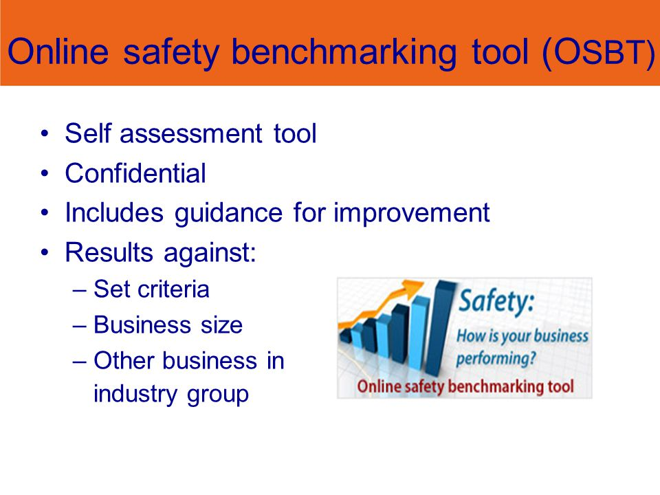 Online safety benchmarking tool (OSBT)