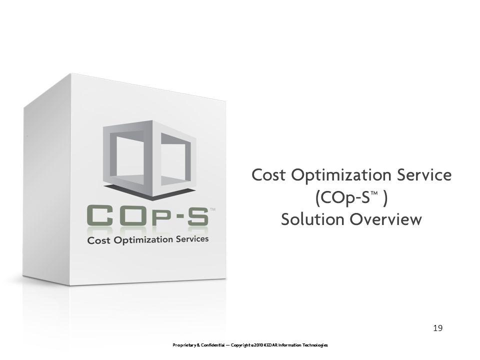 Cost Optimization Service