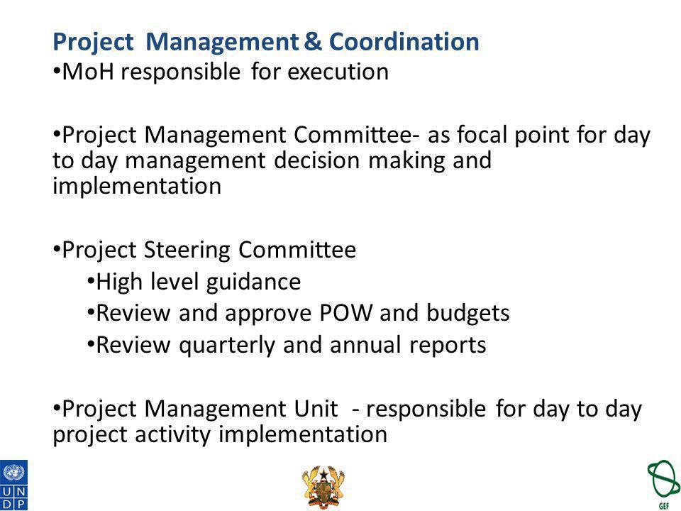 Project Management & Coordination