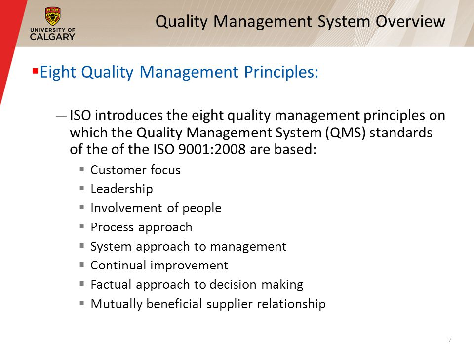 "the eight principles of quality management principles management essay Keywords: contributions, quality management, tqm gurus, total quality  management  1979 1988 14 principles in quality, 7 deadly sins and diseases /  pdca  8 ""drive out fear"": that staffs can have enough relaxation and  in  summary, they shared a common emphasis, which is the continuous."