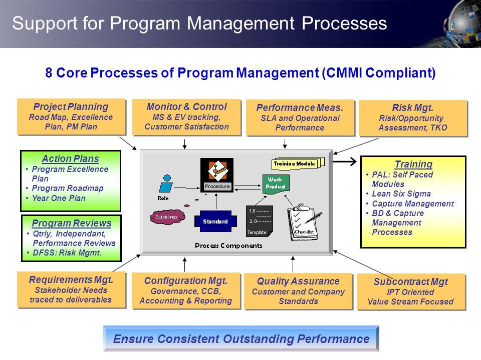 Support for Program Management Processes
