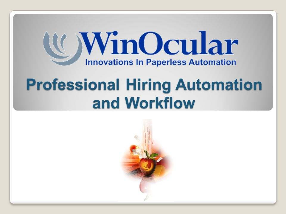 Professional Hiring Automation and Workflow