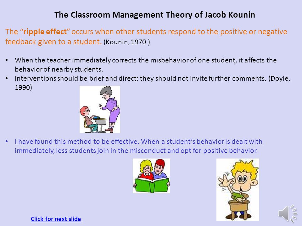 Classroom Design And How It Influences Behaviour ~ The classroom management theory ppt download