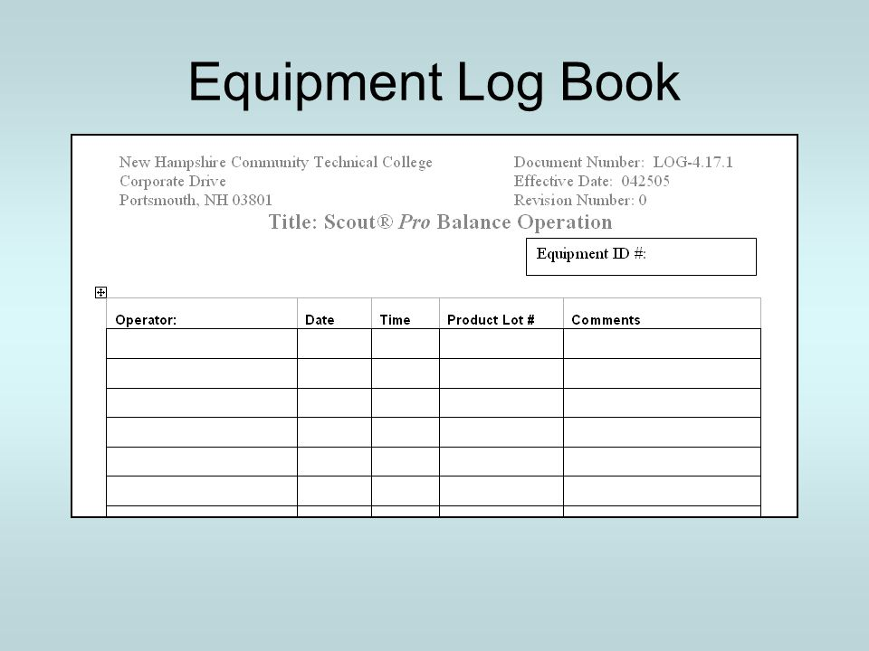 Principles Of A Calibration Management System Ppt Download