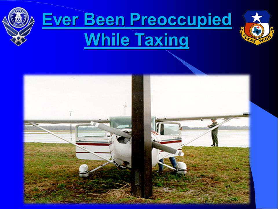 Ever Been Preoccupied While Taxing
