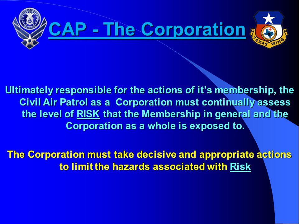 CAP - The Corporation
