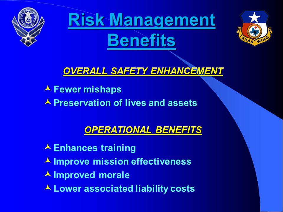 Risk Management Benefits