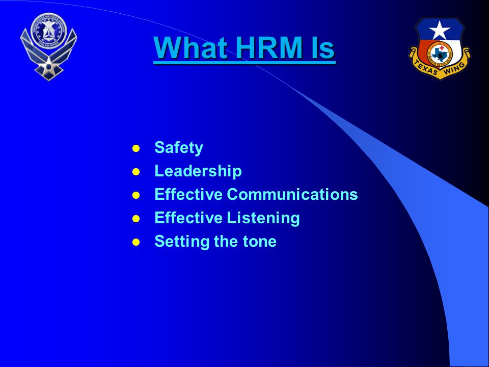 What HRM Is Safety Leadership Effective Communications