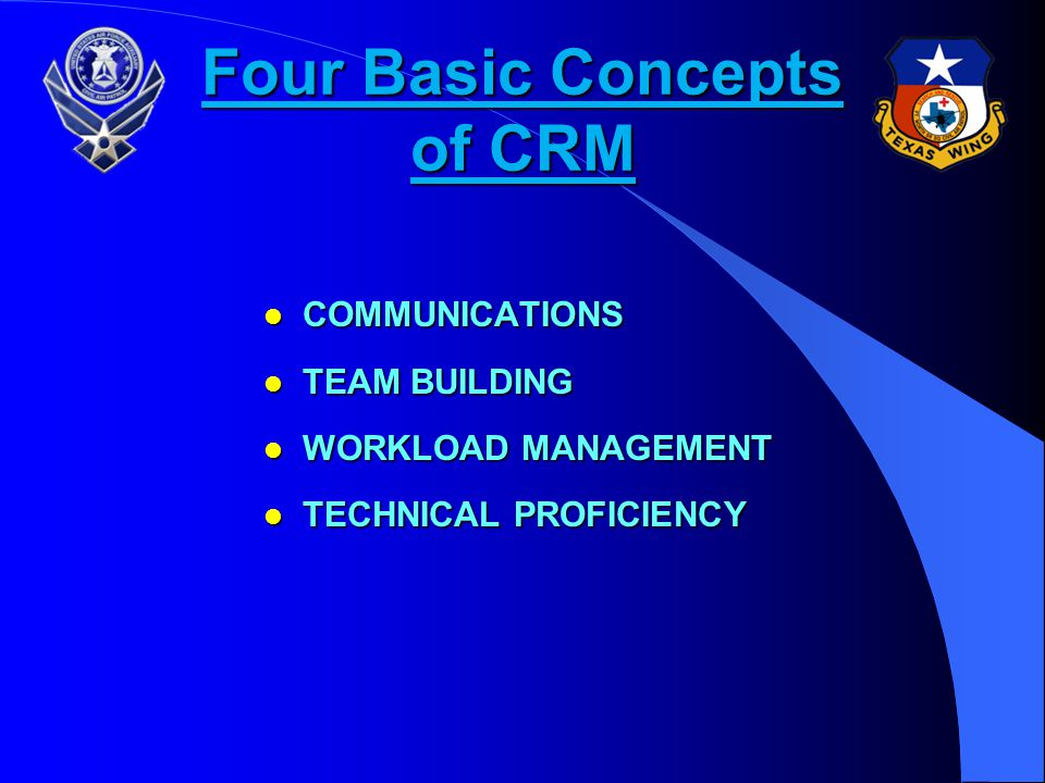 Four Basic Concepts of CRM