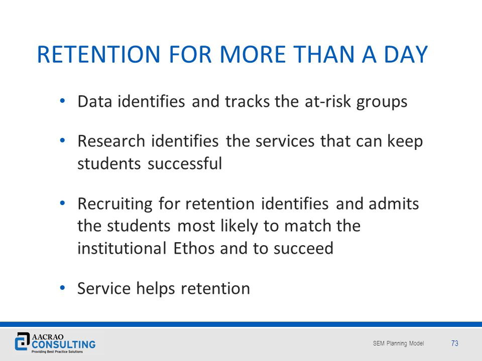 RETENTION FOR MORE THAN A DAY