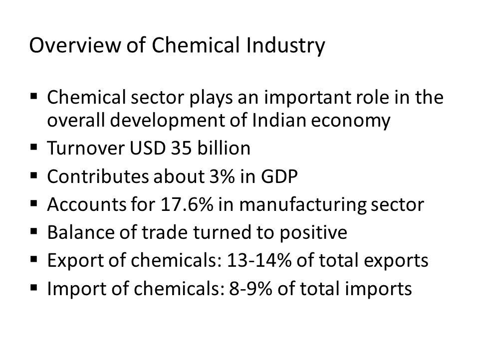 Overview of Chemical Industry