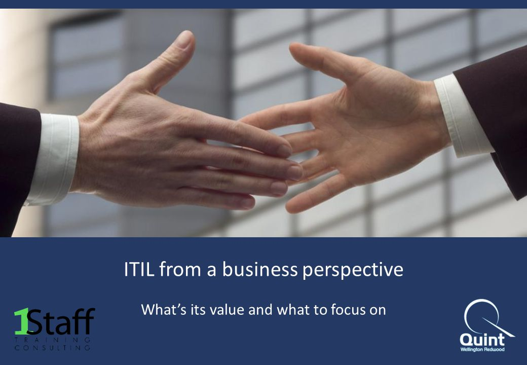 ITIL from a business perspective