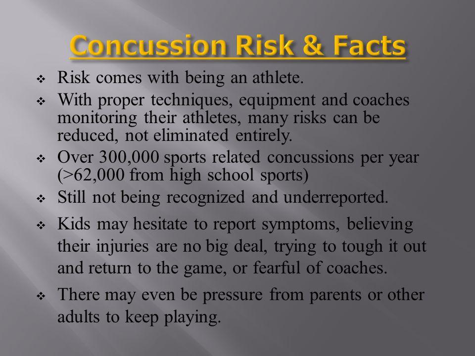 Concussion Risk & Facts