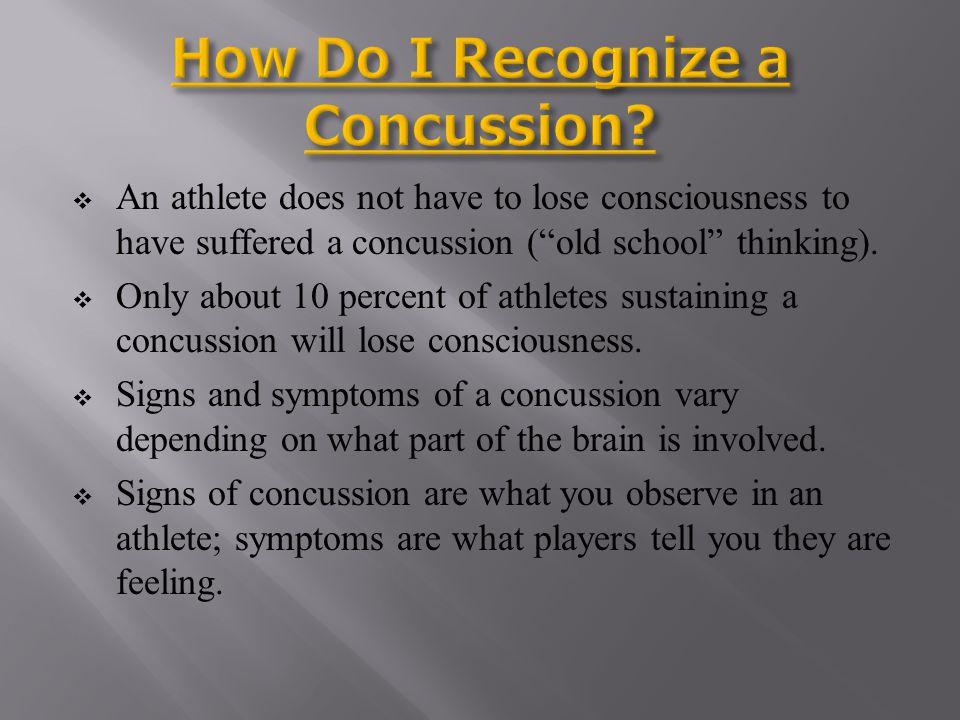How Do I Recognize a Concussion