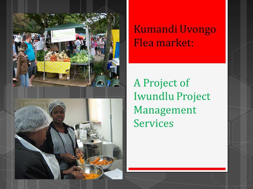 Kumandi Uvongo Flea market: A Project of Iwundlu Project Management Services